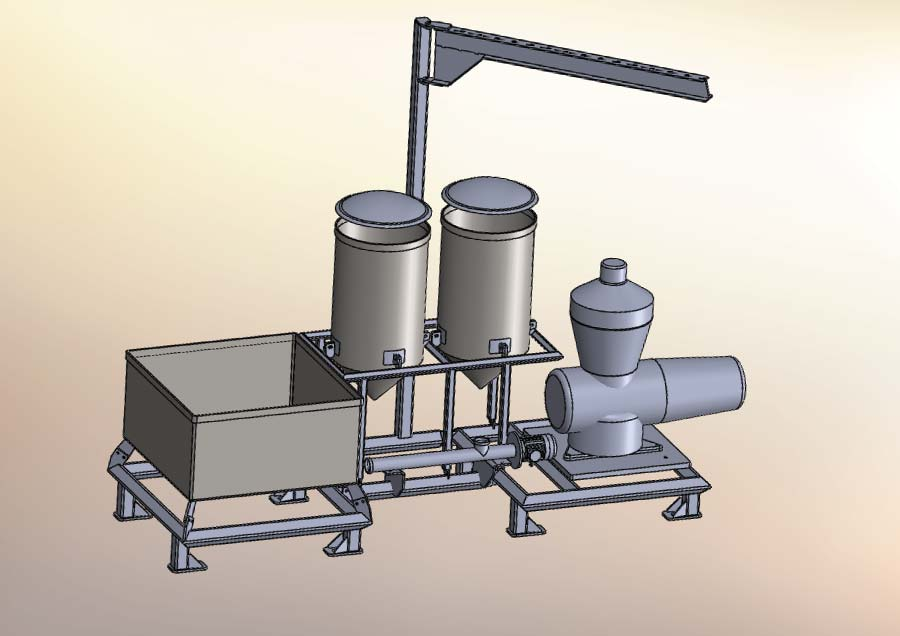 Design to manufacture mixing station